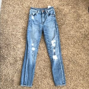 Abercrombie & Fitch high waisted jeans